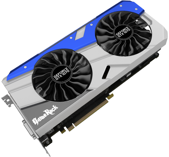 Palit Products - GeForce® GTX 1070 GameRock Premium Edition ::