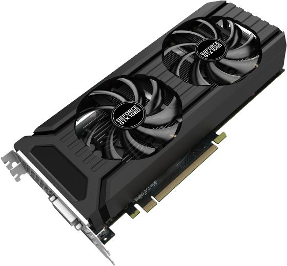 Palit Products - GeForce® GTX 1060 Dual ::