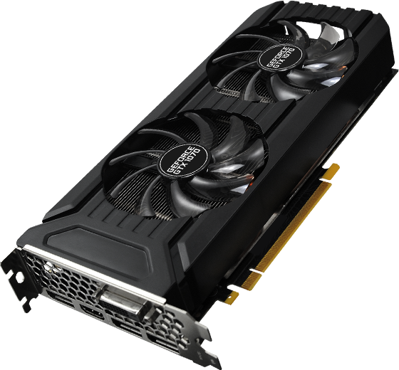 Palit Products - GeForce® GTX 1070 Dual ::